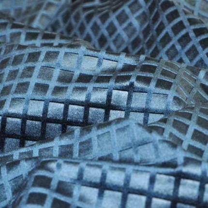 Velours Bolchoï gaufrage quadrille Antoine d'Albiousse Squale 83/Bolchoï gaufrage quadrille Antoine d'Albiousse