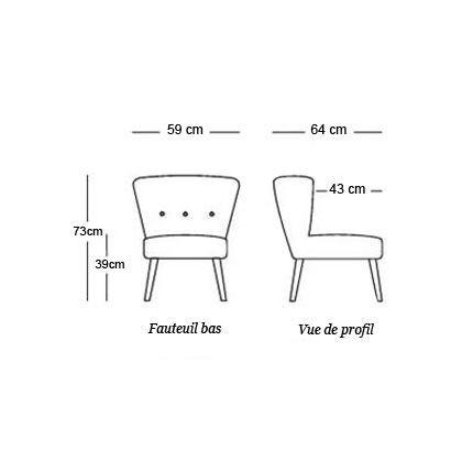 Fauteuil Julep Designers Guild Fauteuil bas  Designers Guild