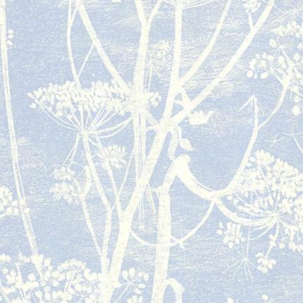 Papier peint Cow Parsley Cole and Son Bleu Frisson 66/7050 Cole and Son
