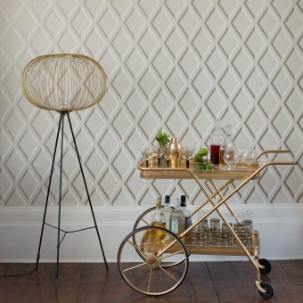 Pompeian Restyled Wallpaper Crème Cole and Son