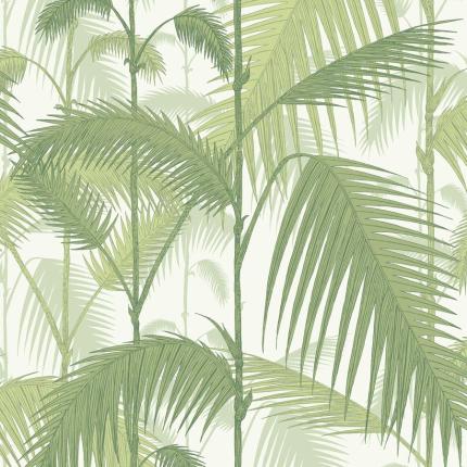 Papier peint Palm Jungle Cole and Son Paille 95/1001 Cole and Son