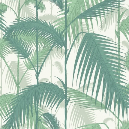 Papier peint Palm Jungle Cole and Son Jade 95/1002 Cole and Son