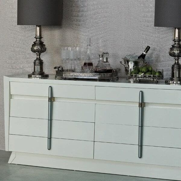 papier peint crocodilo vinyl osborne and little. Black Bedroom Furniture Sets. Home Design Ideas