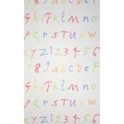 Papier peint Quentin's ABC Multicolore Osborne and Little