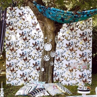 Butterfly Parade Wallpaper Lagon Christian Lacroix