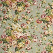 Tissu Fox Hollow Natural-Rose Mulberry