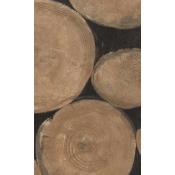 Papier peint Lumberjack Beech Andrew Martin