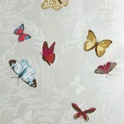 Papier peint Farfalla Gris Nina Campbell