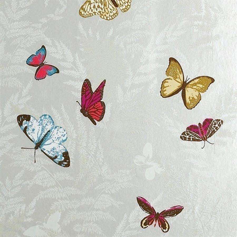 papier peint farfalla nina campbell. Black Bedroom Furniture Sets. Home Design Ideas