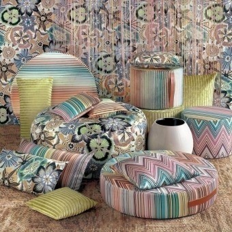 Coussin Coomba Rectangle Beige Missoni Home