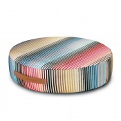 Pouf bas Jacaranda Multicolore Missoni Home