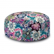 Pouf Pallina Passiflora Prune Missoni Home