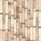 Papier peint Scrapwood 02 Blanc NLXL by Arte
