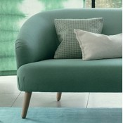 Canapé Smooth 2 places Designers Guild