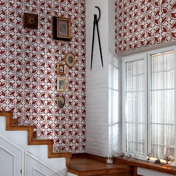 papier peint essaouira coordonne. Black Bedroom Furniture Sets. Home Design Ideas