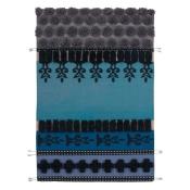 Tapis Tumbuctu Blue 170x240 cm Gan Rugs
