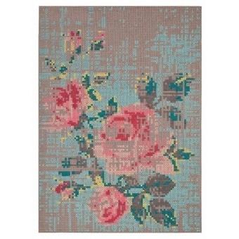 Tapis Flowers Color Natural Gan Rugs