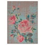 Tapis Flowers Color Pink Gan Rugs