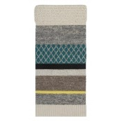 Tapis Rectangular Yellow/Blue 145x300 cm Gan Rugs