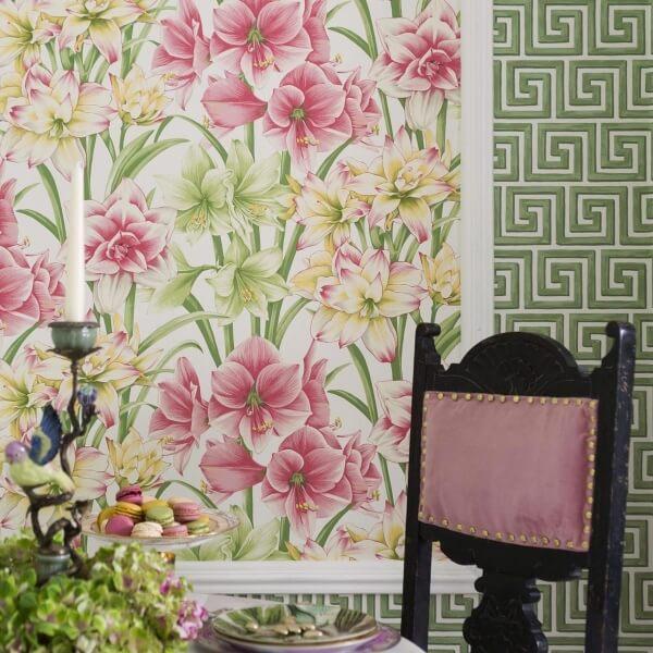 papier peint exotiks cole and son. Black Bedroom Furniture Sets. Home Design Ideas
