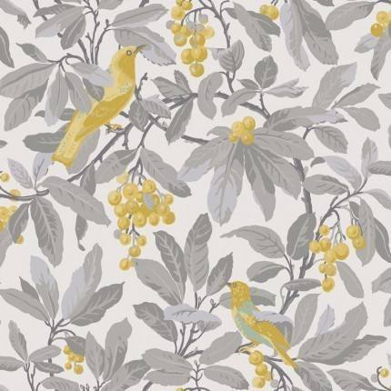 Papier peint Royal Garden Cole and Son Golden Yellow 98/1003 Cole and Son