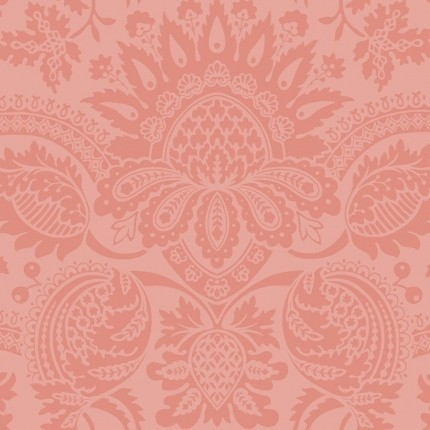Papier peint Dukes Damask Cole and Son Rose 98/2011 Cole and Son