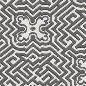 Papier peint Palace Maze Metallic Gilver Cole and Son