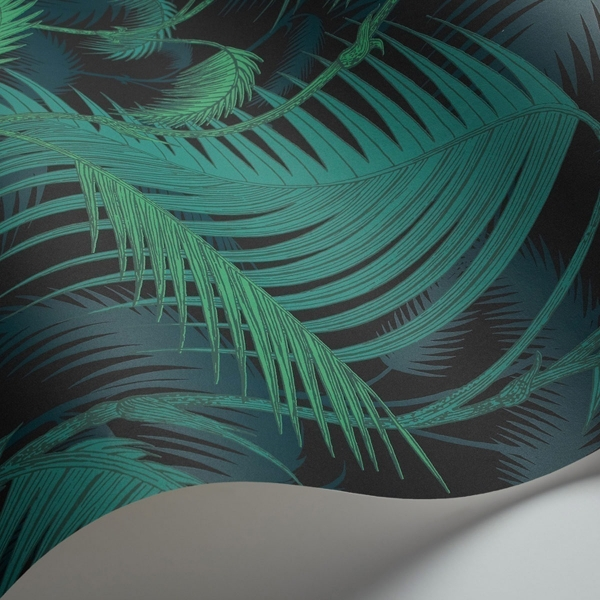 papier peint palm jungle cole and son. Black Bedroom Furniture Sets. Home Design Ideas