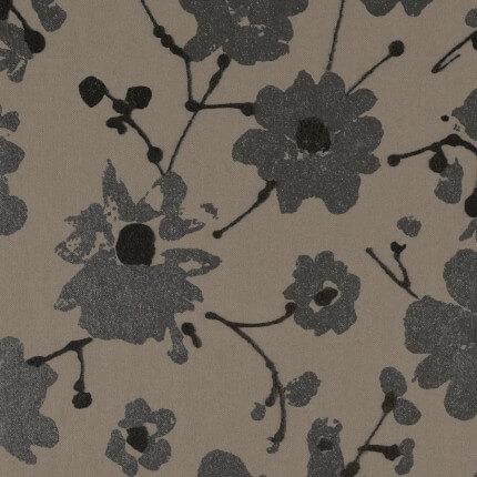 Papier Peint Metal Velvet Flower and Lin Flamant Dauphin 18004 Flamant