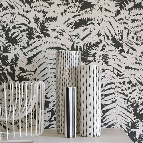 papier peint fern little greene. Black Bedroom Furniture Sets. Home Design Ideas