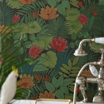 Papier peint Reverie Jardin Little Greene