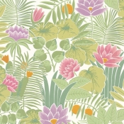 Papier peint Reverie Jardin Little Greene