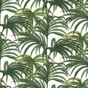 Papier Peint Palmeral White/Green House of Hackney