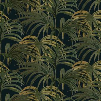 Palmeral Wallpaper Midnight/Azure House of Hackney
