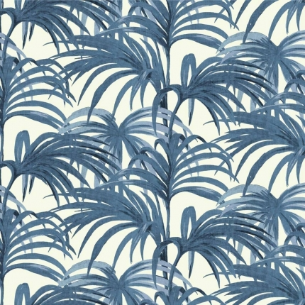 Papier Peint Palmeral House of Hackney White/Azure 1-WA-PAL-DI-W&A-XXX-004 House of Hackney