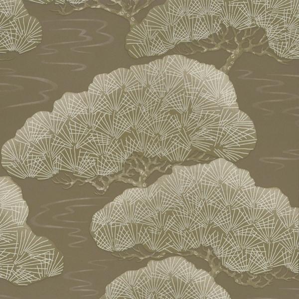 Apex Geo Wallpaper Rose Gold: Papier Peint Pines