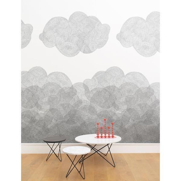 papier peint cloudy minakani lab. Black Bedroom Furniture Sets. Home Design Ideas