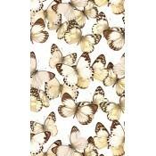 Papier peint Envolée de Papillons Sépia Curious Collections