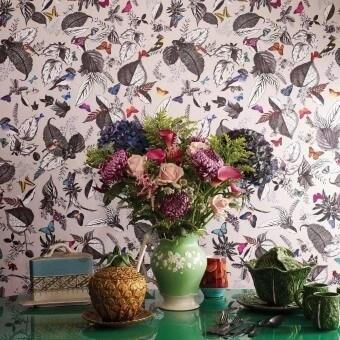 Bird Song Wallpaper Multicolore Osborne and Little