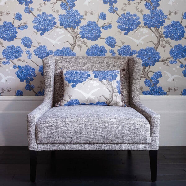 papier peint japonerie osborne and little. Black Bedroom Furniture Sets. Home Design Ideas