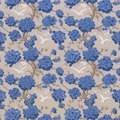 Tissu Japonerie Bleu Osborne and Little