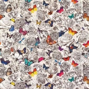 Tissu Butterfly Garden Multicolore Osborne and Little