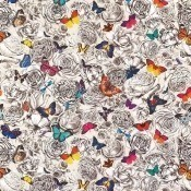 Tissu Butterfly Garden Multicolore Osborne and Little