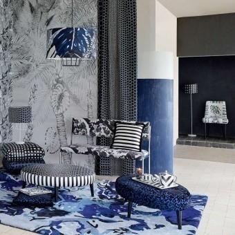 Japoneries Fabric Bougainvillier Christian Lacroix