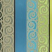 Tissu Bakst Aigue-marine Designers Guild