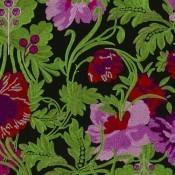 Tissu brodé Bataille de Fleur Bougainvillier Christian Lacroix