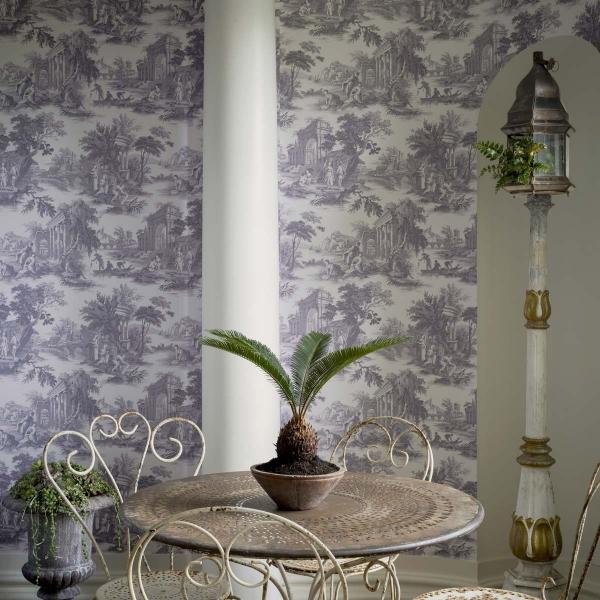 papier peint villandry cole and son. Black Bedroom Furniture Sets. Home Design Ideas