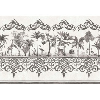 Bordure Rousseau Anthracite Cole and Son
