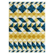 Tapis Mosaiek Hand tufted Yellow 170x240 cm Gan Rugs