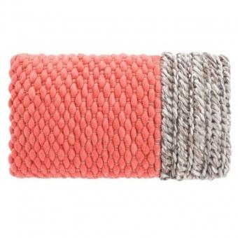 Plait Cushion Coral Gan Rugs